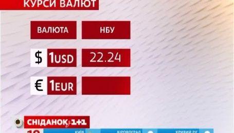 Валюта знову подорожчала, а от ціна на золото знизилася