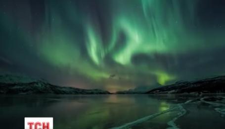Полярное сияние охватило накануне небо Скандинавии, России и даже Беларуси