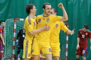 Збірна України стартувала з перемоги у відборі на чемпіонат Європи з футзалу