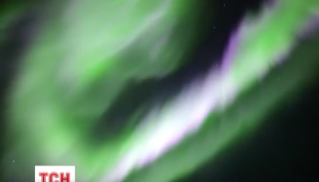 В Скандинавии, России и Беларуси наблюдали полярное сияние