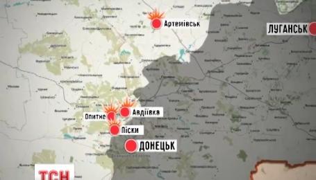 17 разів українські позиції обстрілювали протягом минулої ночі з боку так званих ДНР та ЛНР