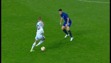 Динамо - Эвертон - 1:0. Видео гола Ярмоленко
