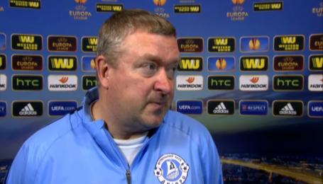 Старший тренер Дніпра не спілкувався з Маркевичем після виходу в 1/4  фіналу Ліги Європи