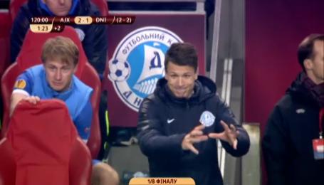 Аякс - Дніпро - 2:1. Експертний відео-аналіз матчу