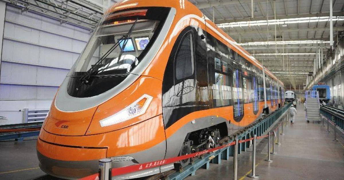 В Китае заработал первый в мире водородный трамвай