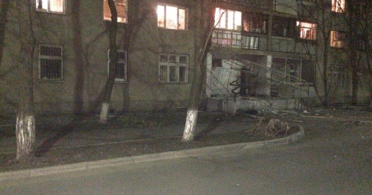 На вулиці Гераневій прогримів потужний вибух. @ rw.by