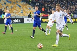 Ярмоленко, Гусєв і Дуглас потрапили в команду тижня Ліги Європи