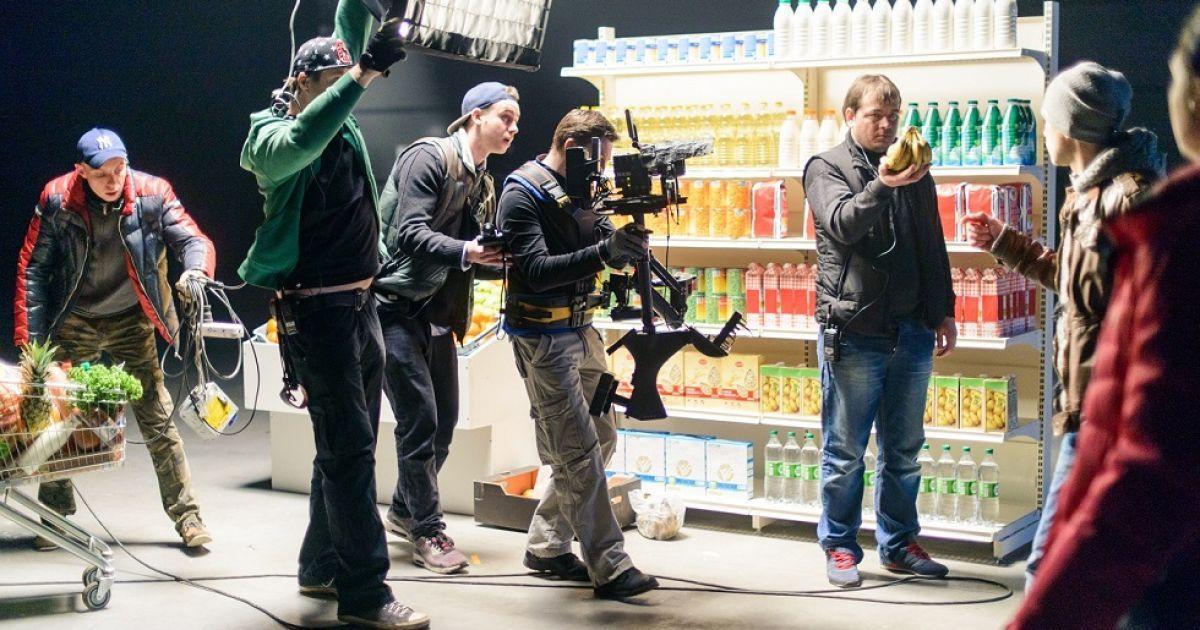 """Ролик для """"Інспектора Фреймут"""" знімали одним кадром @ mvs.gov.ua"""