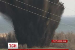На Дніпропетровщині вибухнула 500-кілограмова авіабомба