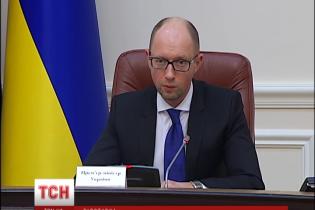 Яценюк наказав підшукати заміну Білоусу протягом двох тижнів