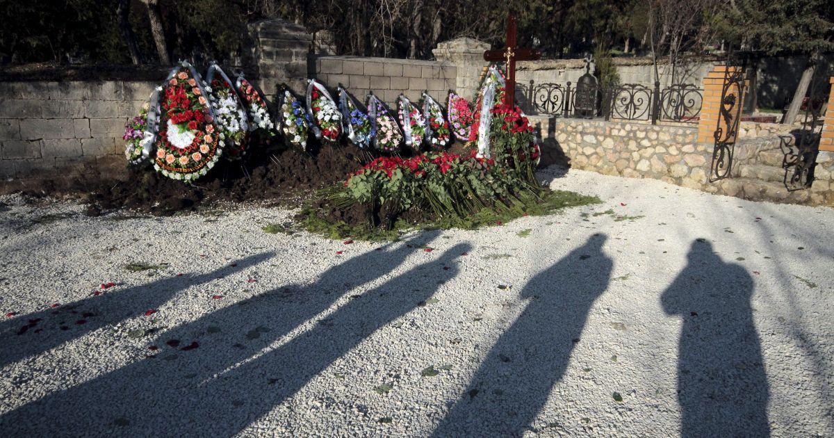 Безіменна могила в Севастополі