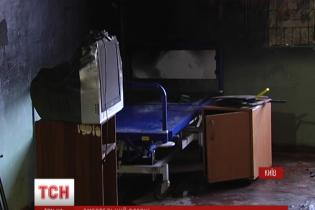 Бездомный, который устроил пожар в киевском хосписе, мог поджечь себя из-за депрессии