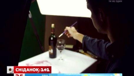 Художник из Днепропетровска рисует впечатляющие картины продуктами