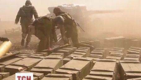 Украинские военные проводят учения под Мариуполем