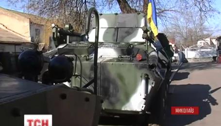 Новую командно-штабную машину разработали на николаевском бронетанковом заводе