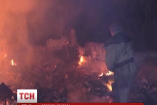 У Києві вночі палав ринок