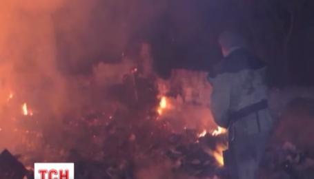 Більше двадцяти будівель згоріло на Чернігівщині через суху траву