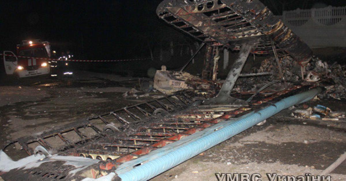 Пилот самолета погиб @ ГУ Нацполіції у Волинській області