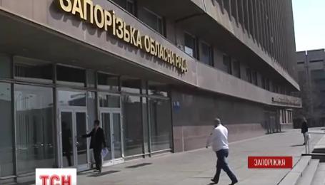 Ночью прогремел взрыв возле обладминистрации в Запорожье