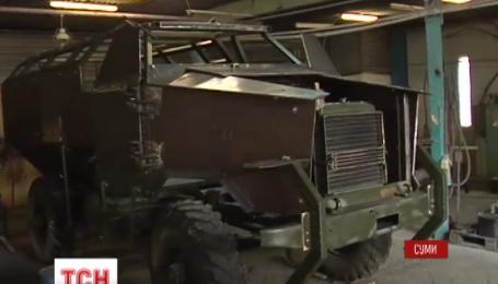 В Сумах сконструировали новую наступательную десантно-штурмовую машину