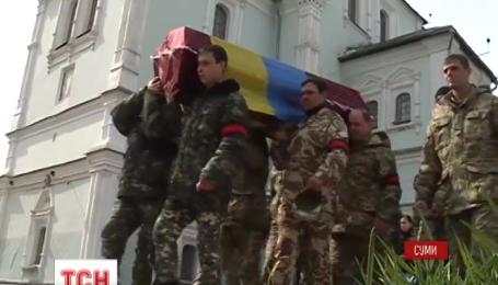 Лишь через полгода смогли похоронить Алексея Калюжного, который погиб на Донбассе