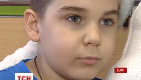 Термінової допомоги потребує 7-річний Ілля Демешко із Шостки