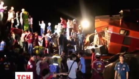 У Таїланді зіштовхнулися два пасажирських потяги