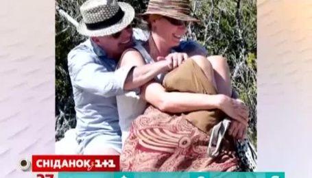 Папарацци застукали Уму Турман с любовником во время отдыха на Карибах