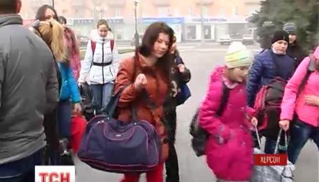 90 школярів з Херсонщини вирушили на відпочинок до Івано-Франківщини