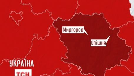 Семеро людей постраждали унаслідок аварії на Полтавщині
