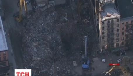 Под завалами домов в Нью-Йорке спасатели нашли тела двух погибших