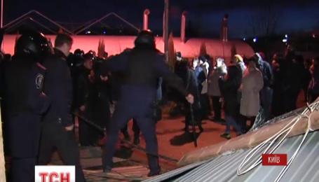 Протест Микільської Слобідки проти незаконної забудови закінчився стріляниною