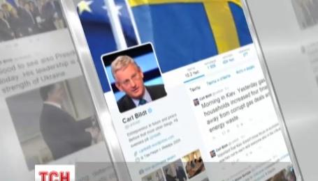 Мережу сколихнуло інтернет-листування колишнього міністра МЗС Швеції і його білоруських колег