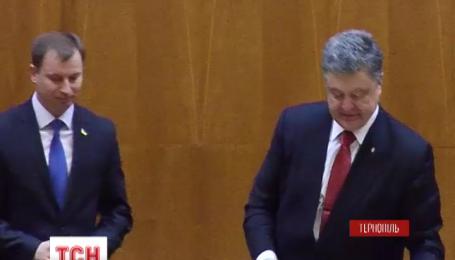 Президент представив нового очільника Тернопільської області