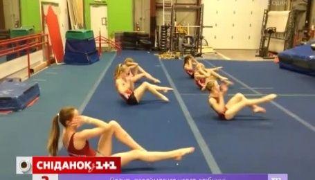 Тренировка профессиональных гимнасток поразили Интернет-пользователей