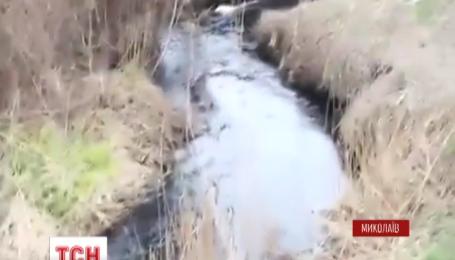 Уголовное производство по факту сброса в реку нечистот открыли в Николаеве