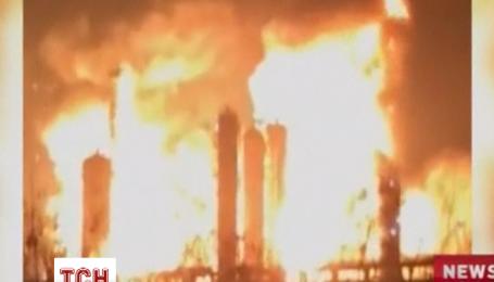 В Китае взорвался химический завод, о пострадавших пока информации нет