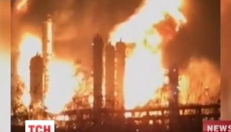 На південному сході Китаю стався вибух на хімічній фабриці