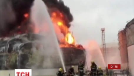 У Китаї стався вибух на хімічній фабриці