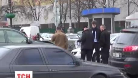 Син президента України Олексій Порошенко потрапив у ДТП на Майдані Незалежності
