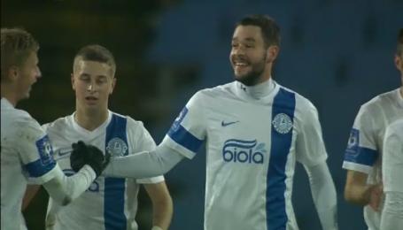 Дніпро - Чорноморець - 1:0. Відео голу Шахова