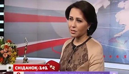 """1+1"" установил рекорд Народной премии ""Телезвезда 2014"""