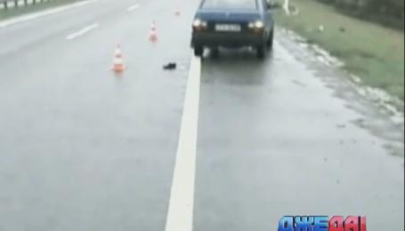 В Полтаве правоохранители нашли водителя фуры, который сбил человека и скрылся