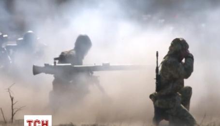 Українські призовники проходять навчання в Житомирі