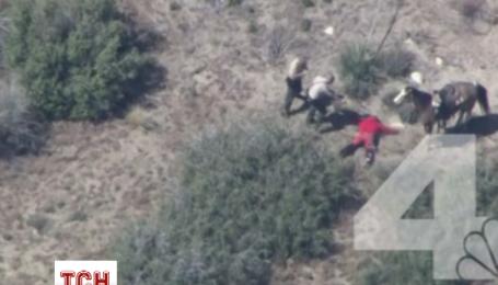 Чолов'яга з Каліфорнії намагався втекти від поліції на вкраденому коні