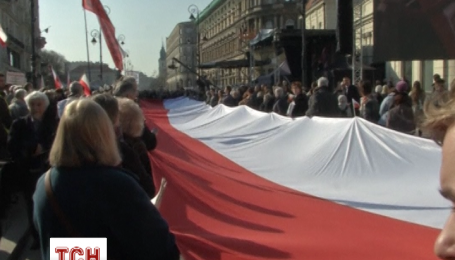 Польша отмечает пятую годовщину катастрофы самолета в Смоленске