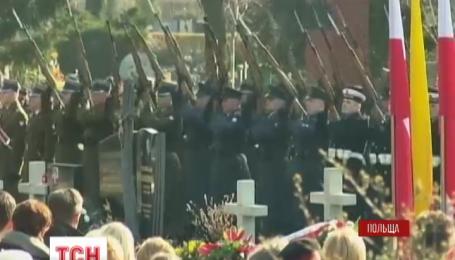 Польша отметила пятую годовщину трагедии под Смоленском