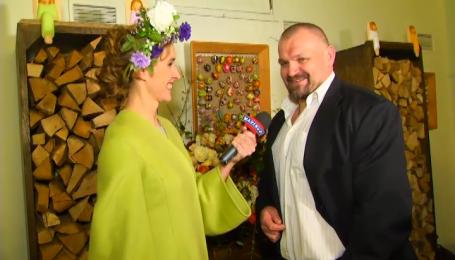 Василий Вирастюк привез гуцульскую Пасху в Киев