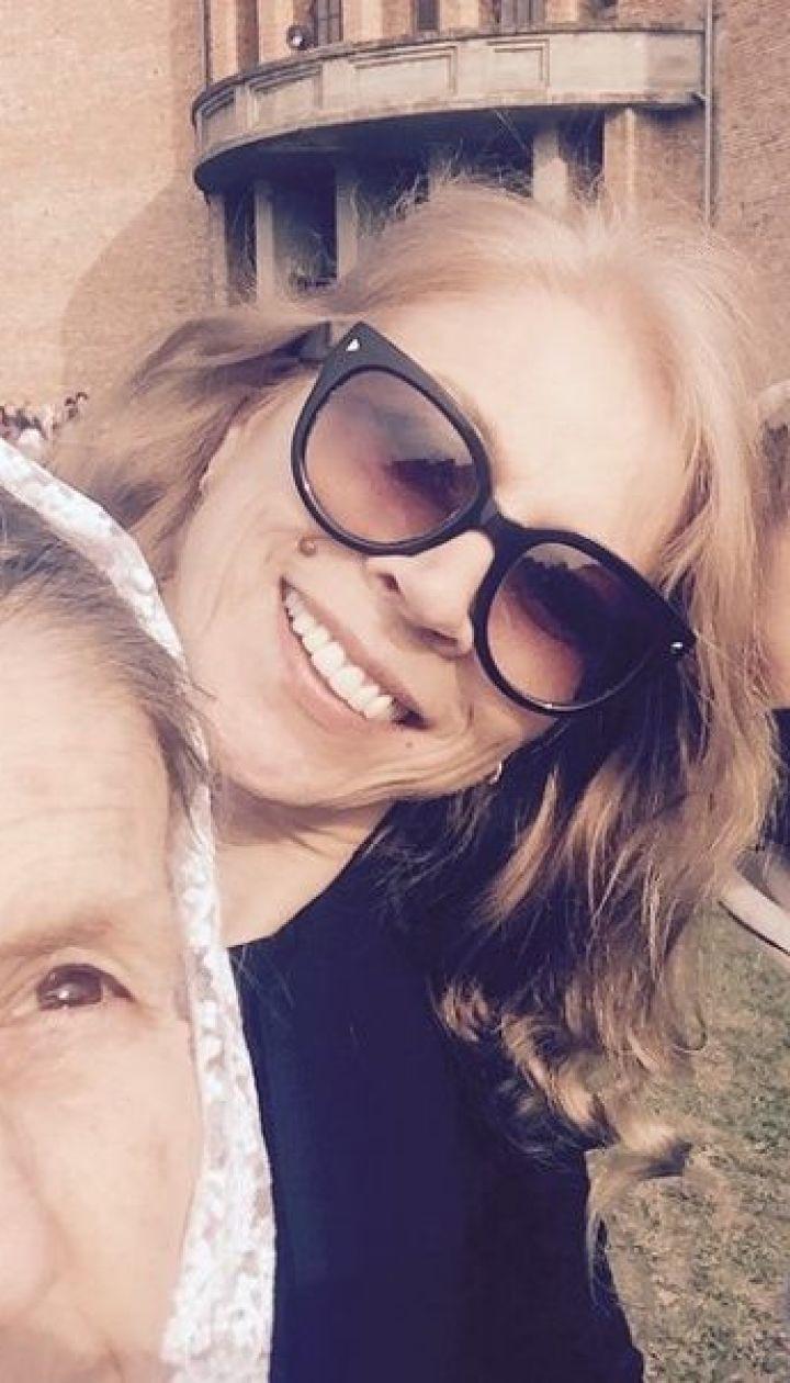 Ольга Фреймут с семьей @ Instagram