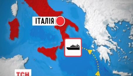 В Средиземном море погибло четыреста нелегальных мигрантов